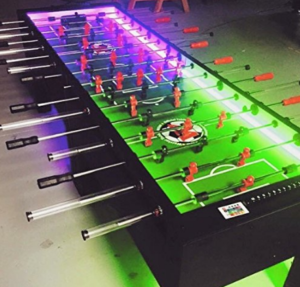 Warrior Table Soccer 8 Man Foosball Table W/ LEDs (Check Price On  Amazon.com)